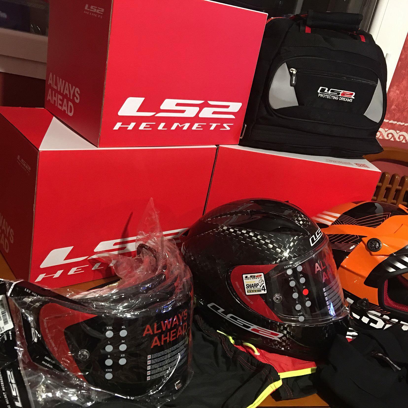 Gracias LS2 Helmets Oficial por cuidar de mí.